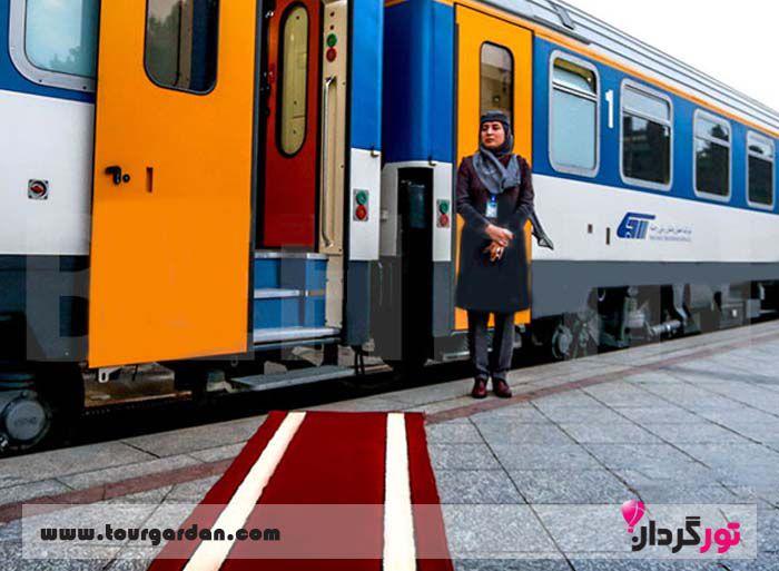 هزینه بلیت قطار مشهد