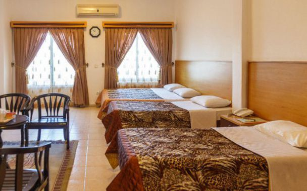 تور کیش از اصفهان هتل آفتاب شرق