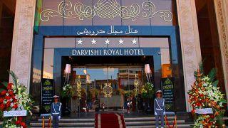 تور مشهد از اصفهان هتل درویشی   تور لاکچری زمینی و هوایی مشه