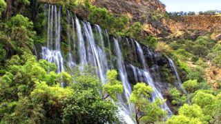 سمفونی زنده طبیعت، در دل آبشار مارگون