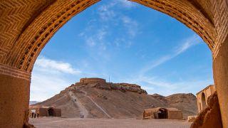برج خاموشان یزد معروف به گور دخمه زرتشتیان | توگردان