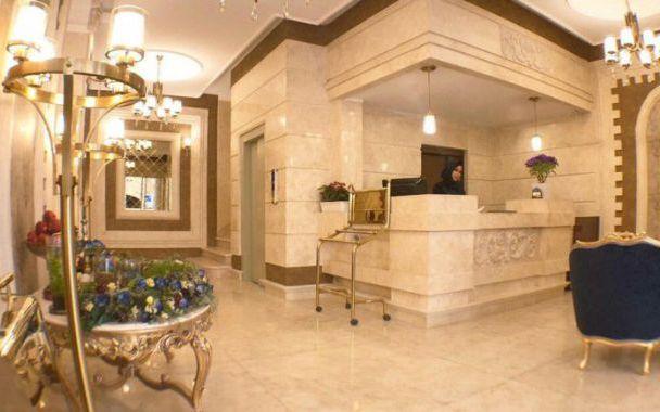 تور مشهد هتل کوثر از تهران