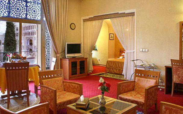تور اصفهان از شیراز هتل عباسی