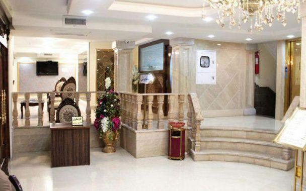 تور مشهد هتل آبشار از تهران