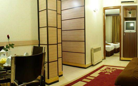 تور مشهد هتل ابریشم از تهران