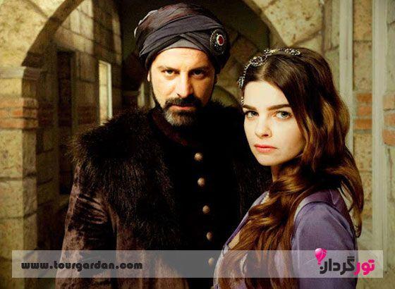 مهری ماه سلطان در سریال حریم سلطان