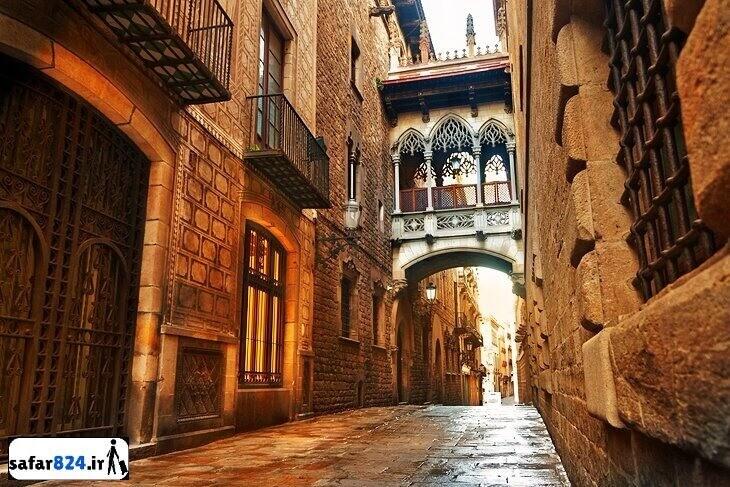 جاذبه های بارسلونا