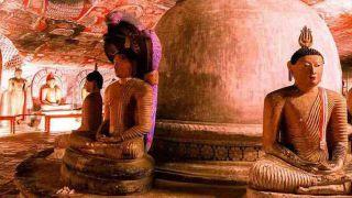 معبد غار دامبولا در دامبولا - سریلانکا
