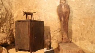 قبرستان ۴۵۰۰ ساله در اهرام جیزه مصر کشف شد